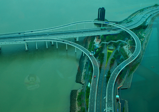 View from Macau tower