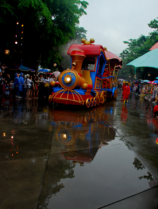 Disney's Rainy Day Parade