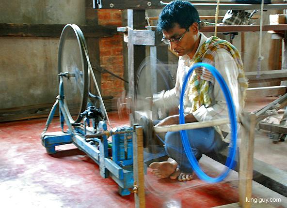 The weaver: creating magic using thread