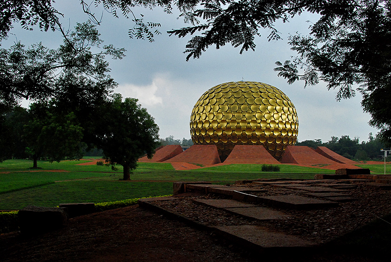 The Matrimandir in Auroville
