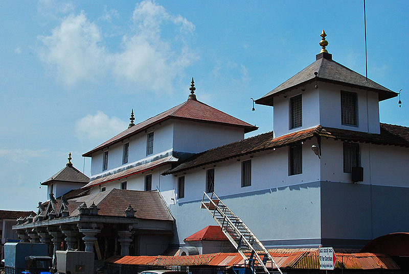 The Dharmasthala temple