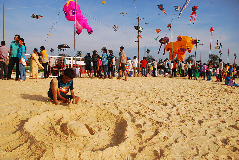 Kite Festival in Mangalore