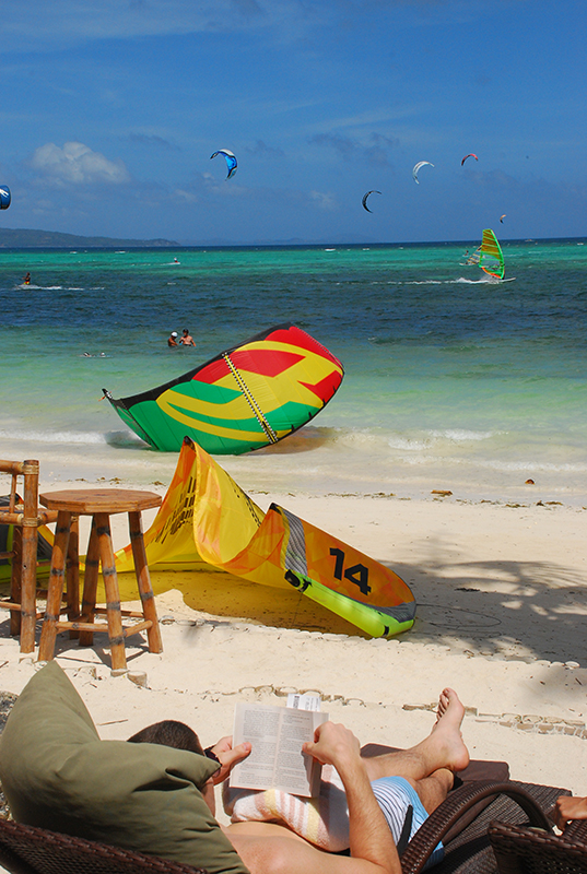 One of the top favourite activities in Boracay - doing nothing