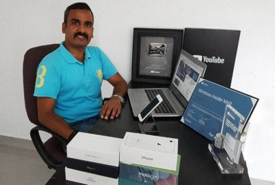 My professional blogger friend Nirmal