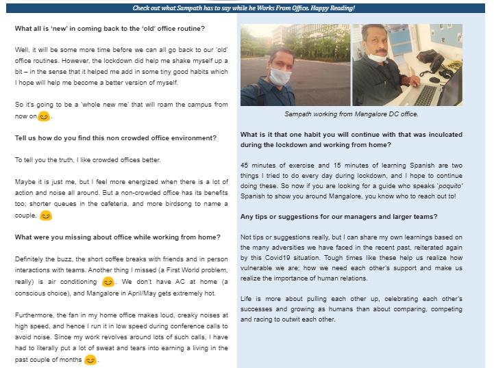 Interview with Sampath Menon